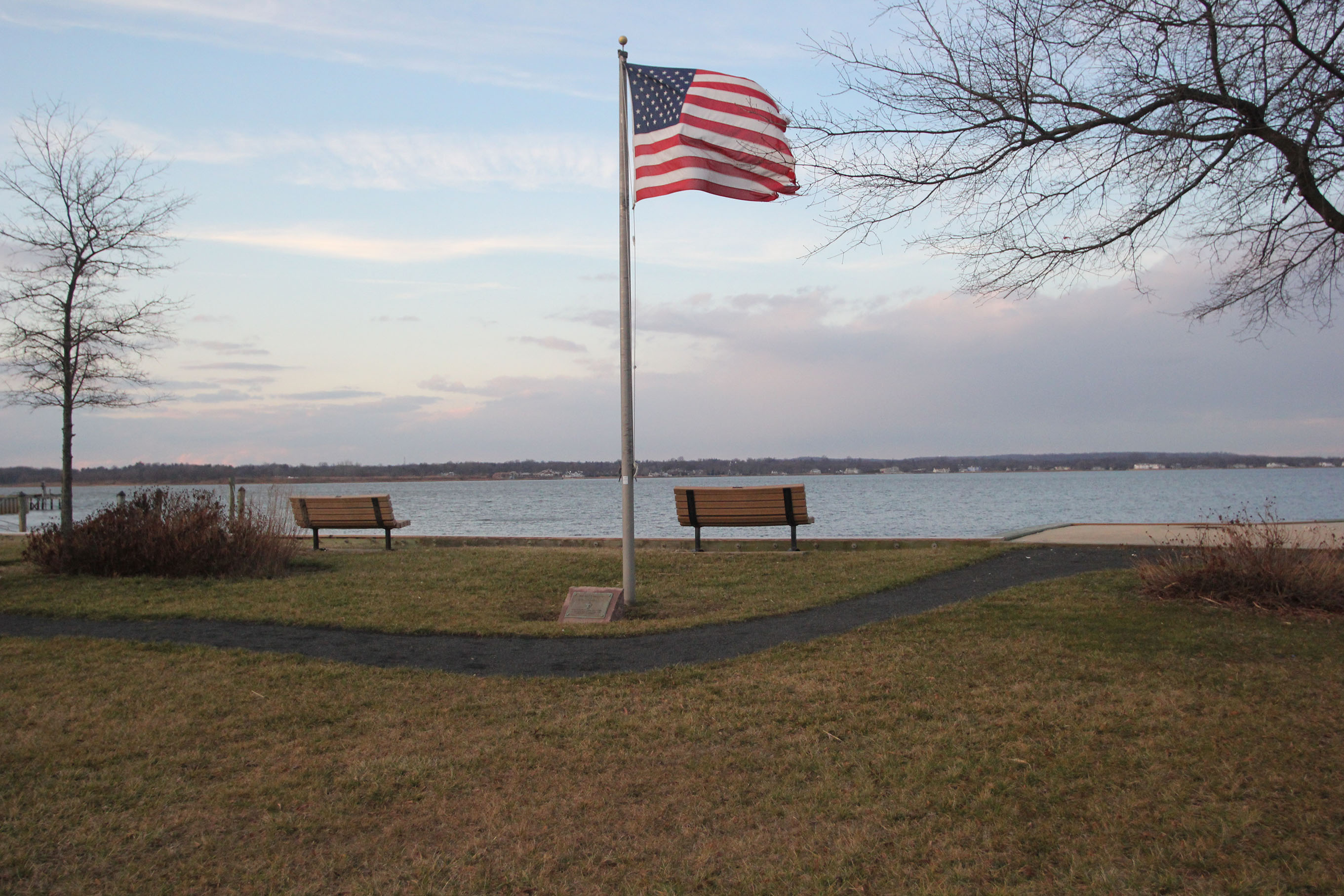 flag in West Long Branch
